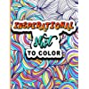Inspirational Shit to Color: A Curse Word Coloring Book for Adult with 50 Swear Motivational Quote Pages for Stress Relief & Relaxation