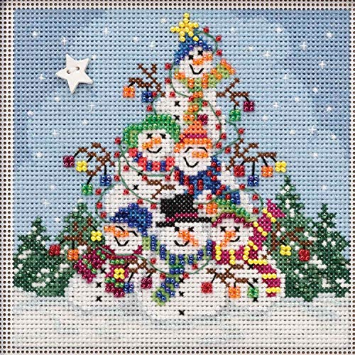 MILL HILL BUTTONS /& BEADS WINTER Series Cross Stitch Kit SANTA/'S TREATS MH142306