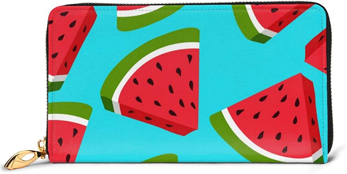 Max 81% OFF Fresh Genuine Watermelon Womens Wallet Leather Ca Credit Wallets