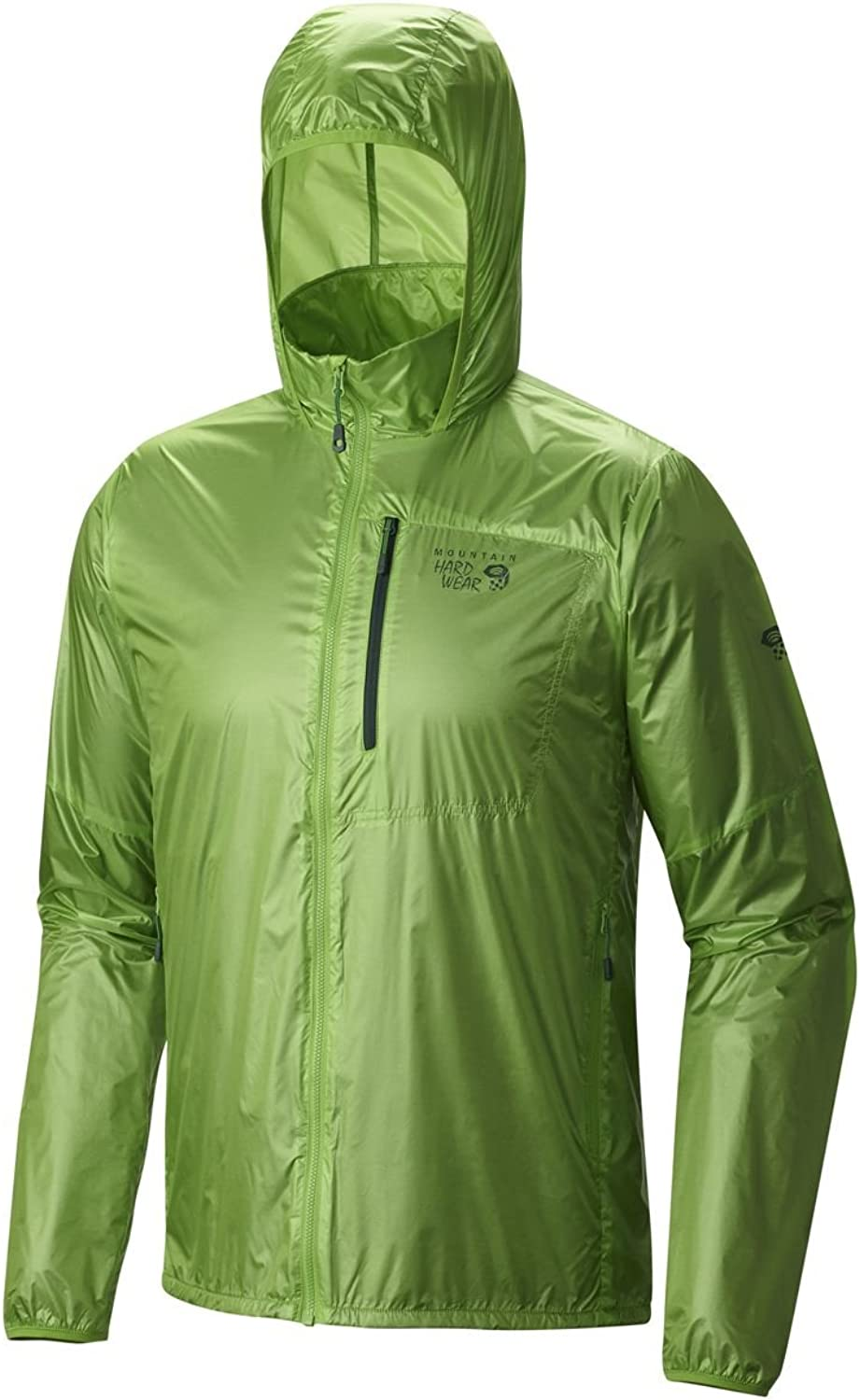 Mountain Hardwear Men's Ghost Lite Pro Jacket, Cyber Green,