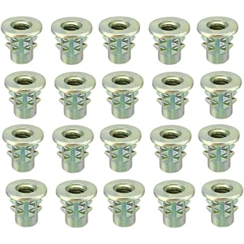 1//4-20 Screw Size Pack of 1 0.5 OD Female 7 Length, Lyn-Tron Zinc Plated Brass
