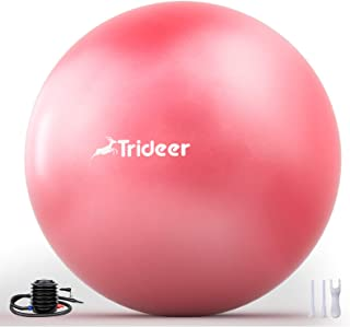 Trideer Newest Exercise Ball, Yoga Ball for Home Gym &...