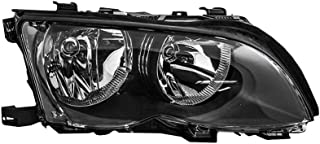 Epic Lighting OE Fitment Replacement Headlight Assembly for 2002-2005 BMW 320i 323i 325i 328i 330i 330xi [BM2503122 63127165772] Right Passenger Side RH