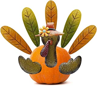 FORUP Thanksgiving Pumpkin Turkey Making Kit, Turkey Decor Kit, Thanksgiving Decoration for Autumn Fall Thanksgiving Harvest Home Decor