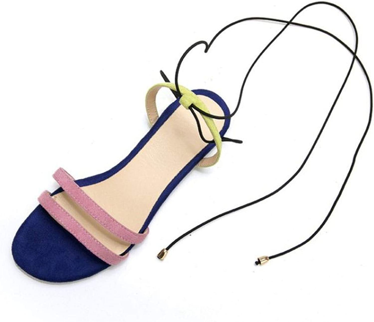 Forever Long Summer Women Sandals Sexy Ankle Strap Flats Sandals Casual shoes Women Beach Party shoes