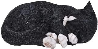 Vivid Arts Size B Real Life Sleeping Cat - Black/White
