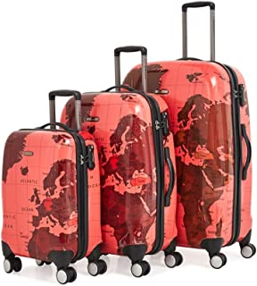 13ec01966 Eminent PC Light Spinner Trolley Case KD71MAP (20-25-29, Red)