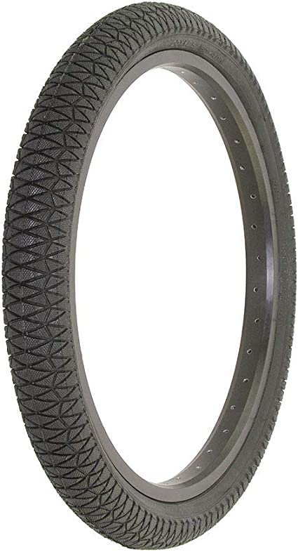57-406 20x2.125 TIRES TWO HIGH QUALITY  BLACK WHITE WALL TIRES AND 2 INNER TUBES