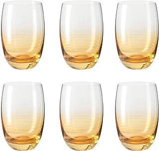 Leonardo Swing Cheers 16 ounce Tumbler Glasses, Set of 6 - Ambra