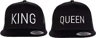 King & Queen Matching Hats | Couples Caps for Mr. Mrs. Husband Wife Boyfriend Girlfriend
