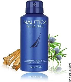 Nautica Blue Sail Deodorant Spray for Men, 150ml