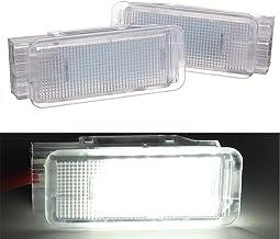 DC 9-16 V Lampe int/érieure pour Peugeot 206 306 307 308 406 407 VRCZ vogueyouth 2 PCS LED Bagages Compartiment Coffre Coffre lumi/ères