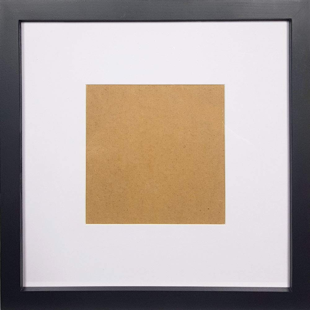 Gold 10x10 Square Photo  Picture Frame  Hang