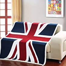 union jack bed throw