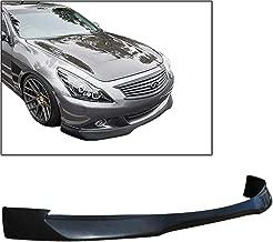 TC Sportline BO-ING3113641 RA-Style Polyurethane PU Front Bumper Lip Spoiler for 2011-2013 Infiniti G25 G37 Sedan 4Dr