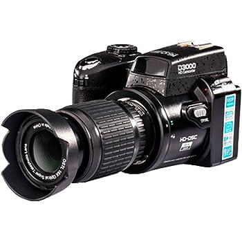 Cámara digital 16 MP, Zoom 16x, color negro: Amazon.es: Electrónica