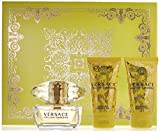 Versace Yellow Diamond 3 Piece Gift Set for Women, packaging may vary
