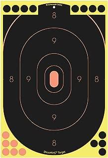 "Birchwood Casey Shoot–N–C ® 12x 18""セルフ–接着剤シルエットターゲット"