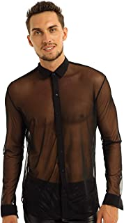 Best mesh button up shirt Reviews