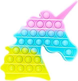 AURSTORE Fluorescent Jouets Anti-Stress - Fidget Toy - Push It - Pop Bubble - Jouets Sensoriels à Presser en Silicone pour...