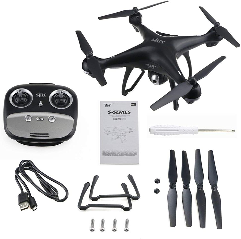 genuina alta calidad Leoboone 4 Ejes S70W Full HD 1080P 90 Grados Gran Gran Gran Angular Doble GPS-2.4GHz WiFi   FPV Drone Quad Copter RC helicópteros Aviones  precios razonables