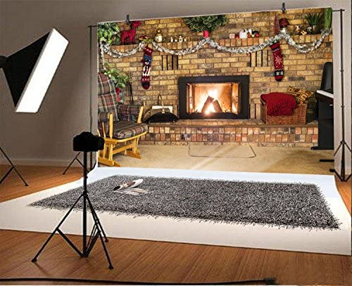 10x6.5ft Background Fire Eagle Photography Backdrop Studio Photo Props CL21