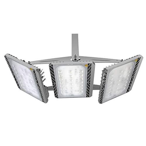 GOSUN Foco proyector LED 300W para exteriores, CREE SMD5050, 27000lm, blanco diurno 6000K