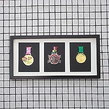 ZZPP Fotolijst Display Medailles, militaire medaille Opbergdoos, badge teken, medaille Display Box, medaille frame, medail...