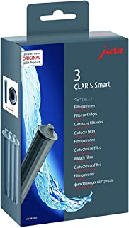 Jura Claris Smart Cartouche filtrante, gris, 3,7 x 14 x 15 cm, 1 pack avec trois cartouches d'impression