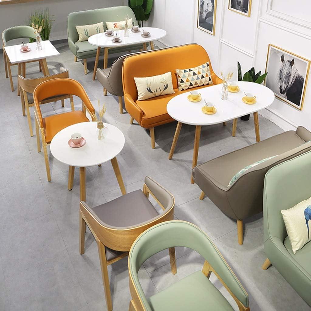 HXF- Chaise de salle à manger, chaise de bureau simple, dossier créatif, chaise de loisirs, chaise de salle à manger pour adulte durable (couleur : vert) Vert