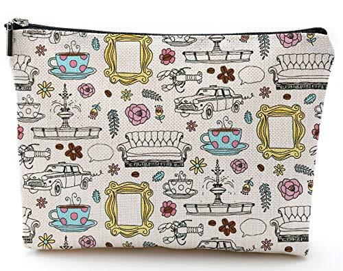 Friends Forever Friends TV Show Merchandise Friends Makeup Bag Cosmetic Bag for Friends Fans