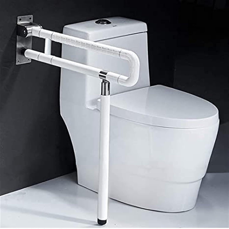 ARWQ857 Bath Shower Oklahoma City Mall Grab Bars Handicap Gra Dedication Rails Toilet Foldable