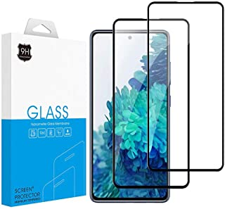 2-Pack Galaxy S20 FE Screen Protector Tempered Glass Film Screen Protector for Samsung Galaxy S20 FE 5G (2020)