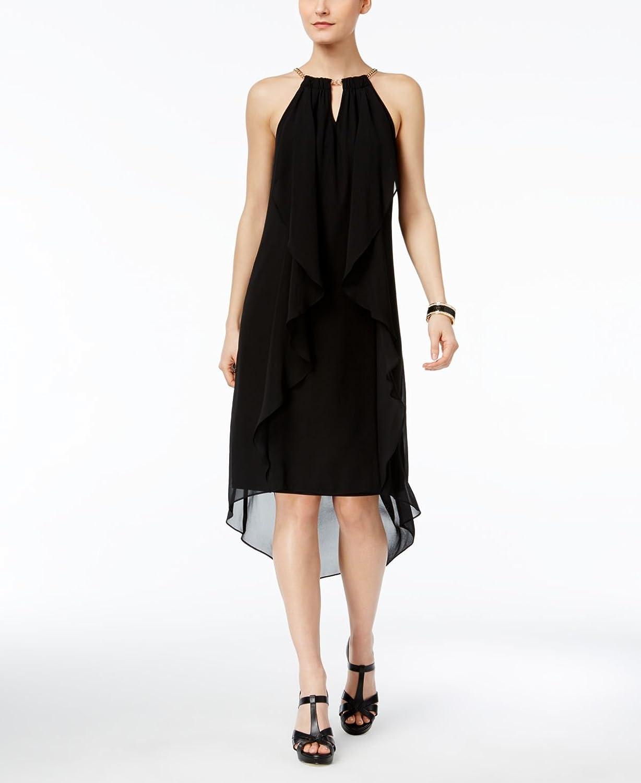 Thalia Sodi Womens Halter HighLow Dress