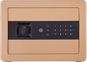 Safe Box for Money Electronic Steel Security Safe with Keypad, 2 Manual Override Keys-Protect Money, Jewelry, Passports
