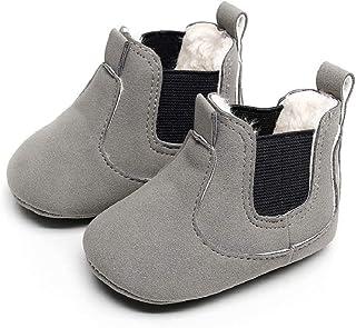 4efcb16f3615c Chaussures Bébé Binggong Chaussures Enfant en bas âge Nouveau-né Bébé  Garçons Fille Berceau Bottes