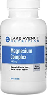 Lake Avenue Nutrition Magnesium Complex, 300 mg, 250 Tablets