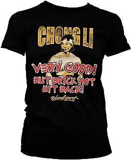 Bloodsport Officially Licensed Chong Li Women T-Shirt