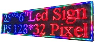 P5 Full Color Indoor LED Sign 25