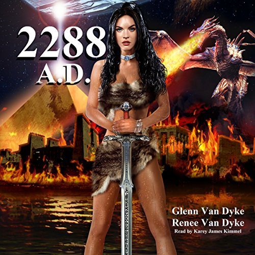 2288 A.D.: A Time Travel Sci-fi Fantasy audiobook cover art