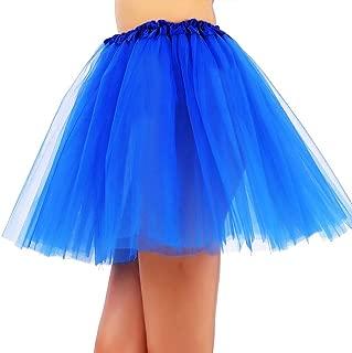 blue tutu long