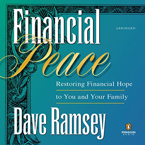 Financial Peace audiobook cover art