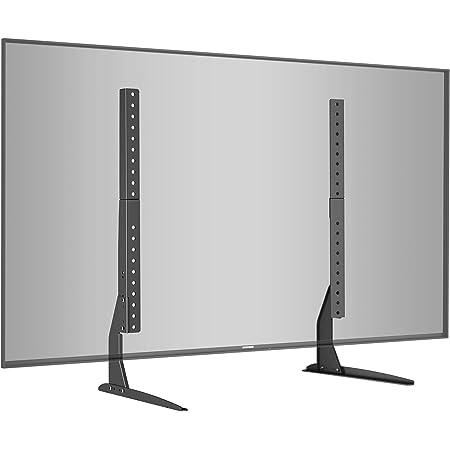 BONTEC Patas TV, Soporte TV de Pie Universal para Television LCD LED Plasma Plano 22-65 Pulgadas, Peanas para TV Carga Máx. 50 kg - VESA Máx. ...
