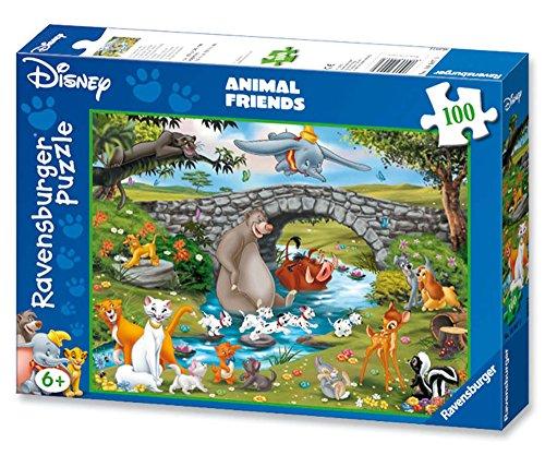 Ravensburger - Puzzle enfant - La Grande Famille - 100 Pièces