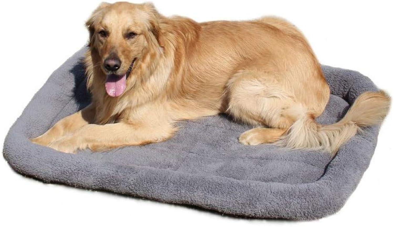 Garantía 100% de ajuste WWSSXX Mascota Grande Perro Cama Cama Cama Suave Paño Grueso Y Suave Gato Caliente Camas Multifunción Cachorro Perro Jaula Estera Perro Asiento De Coche Estera  mejor opcion