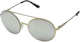 Michael Kors Cabo 11936G 55 Montures de lunettes, Or (Pale Gold/Tone/Silver Mirror), Femme