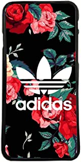 ELHURON Fundas De Moviles Carcasas De Moviles Funda Carcasa Compatible con Adidas Logo Rosas