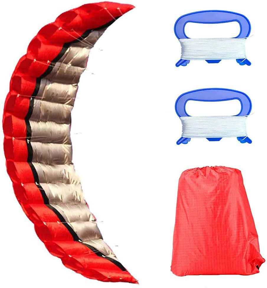 Stunt Max 88% OFF Kite Dual Line Parachute Parafoil Outdoor Large Today's only