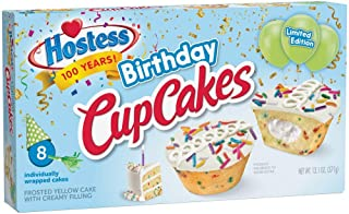 Hostess Birthday Cake Cupcake Limited Edition