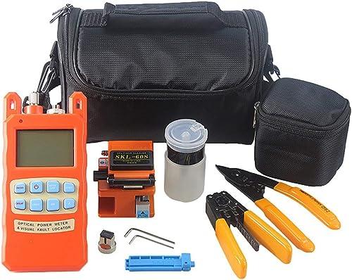 entrega de rayos 21PCS 21PCS 21PCS   Set Conjunto de medidor de Potencia de Fibra óptica de Conjunto de ensamblaje en frío de Fibra óptica (naranja)  Compra calidad 100% autentica